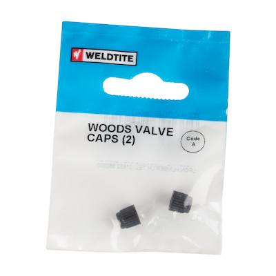 Weldtite Woods Valve Caps (2) | Valve Caps