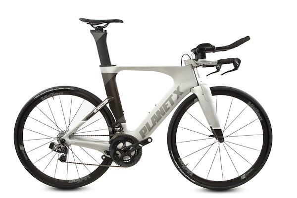 Planet X Exo3 Time Trial Bike SRAM Red Etap Edition Large Silver Shadow | Tri/time trial