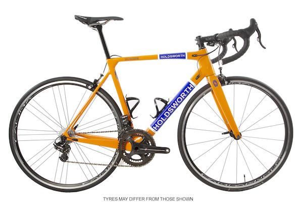 Holdsworth Super Professional Super Record EPS / Medium 54cm / Team Orange / Calima Wheels - Ex Team | Wheelset