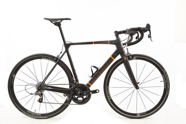 Holdsworth Super Professional Carbon Force22 Road Bike / 54cm Medium / Black And Orange With Team 35 EX TEAM USED | Groupsets