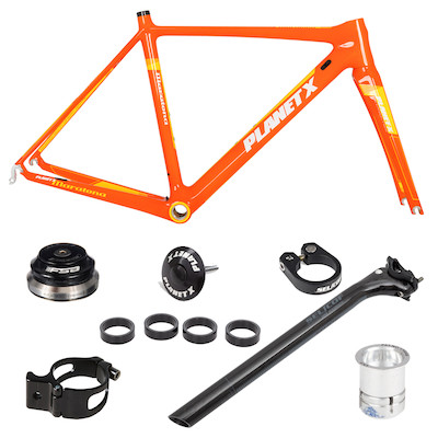 Planet X Maratona Carbon Road Frameset And Fittings Bundle