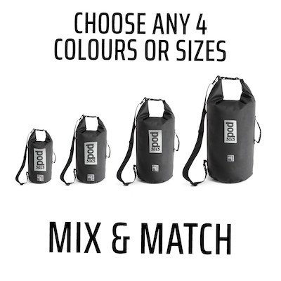Mix And Match 4 Dry Bags Bundle