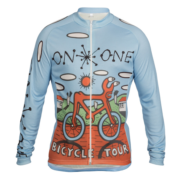 On One Mombassa Bicycle Tour Long Sleeve Jersey  Small