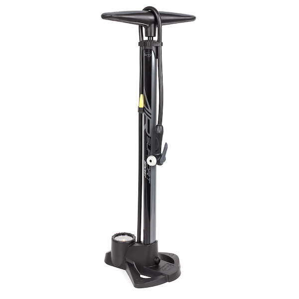 Contec Air Support Track Pump  Black and Anthracite
