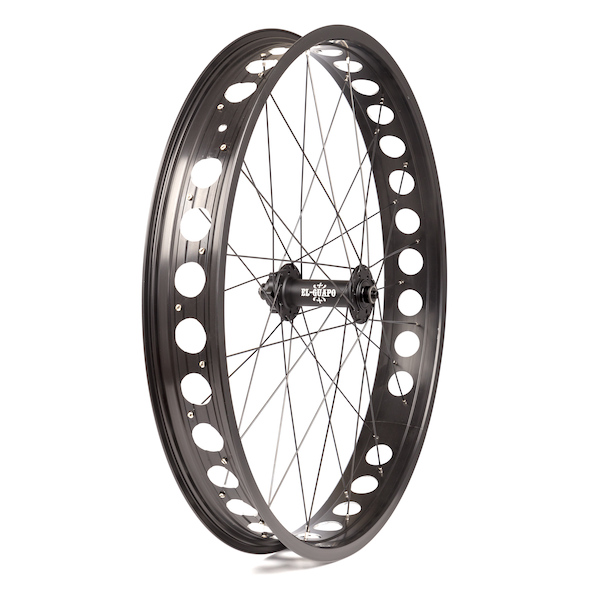 On-One Emmental Rim with El Guapo Pro Hub Front Fat Bike Wheel