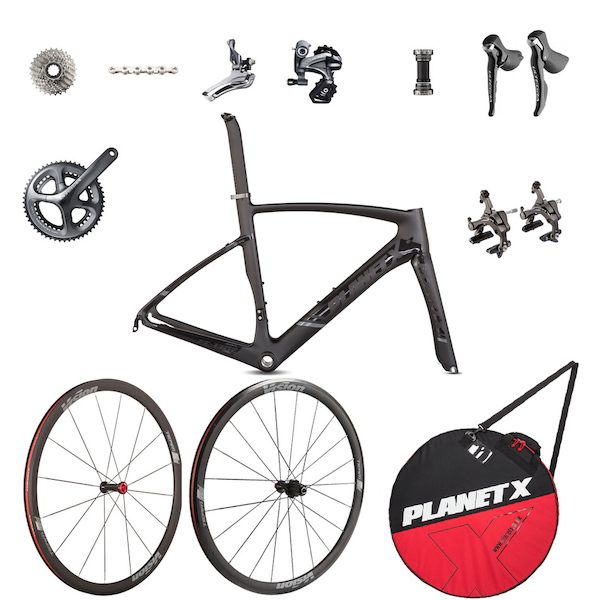 Planet X EC-130E Rivet Rider Ultegra Special Build Bike Kit
