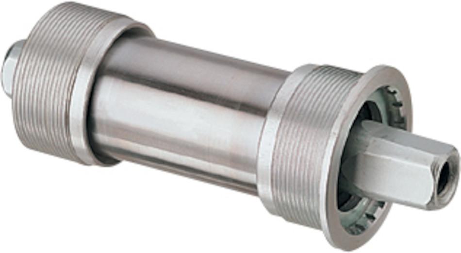 classic, square taper JIS bottom bracket in 68mm shell width. The ...
