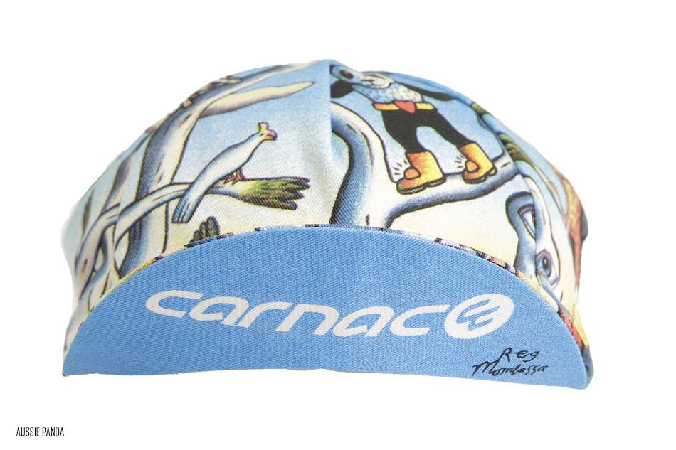 fc9c9dac6 ... Carnac By Mombassa Cotton Cycling Cap Made By Apis / Aussie Panda ...
