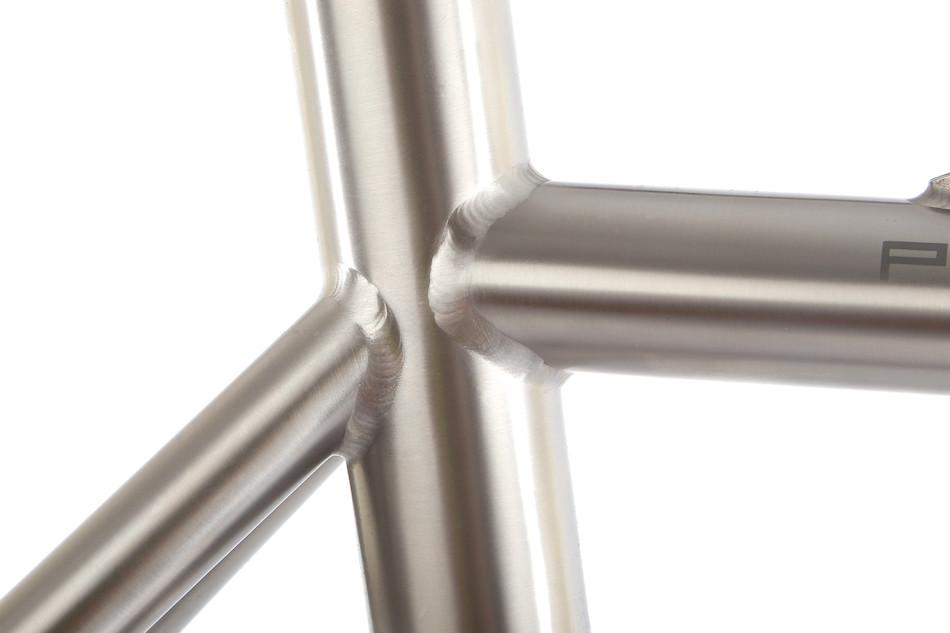 on one pickenflick titanium cyclocross frameset