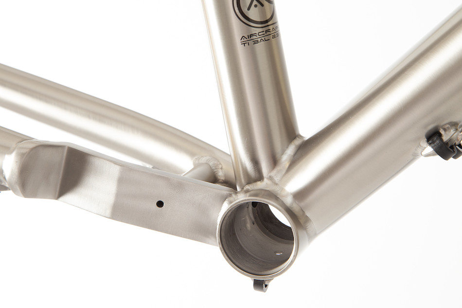 Planet X Tempest V3 FM Titanium Gravel Road Frame | Planet X