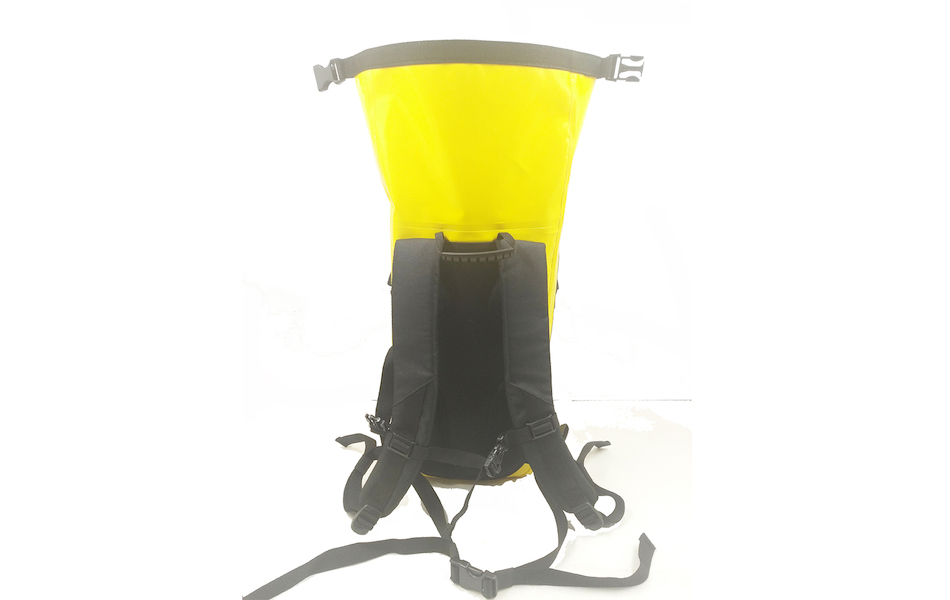 PODSACS  Waterproof 20L Rucksack / Yellow - Black