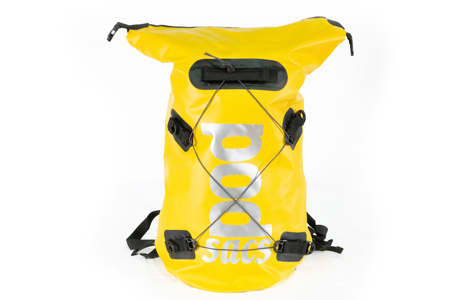 PODSACS  Waterproof 30L Backpack / Yellow and Black