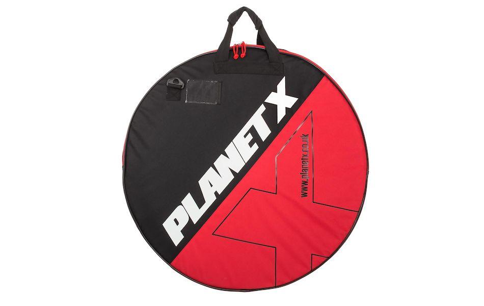 Double Padded Wheel Bag Road TT Triathlon Fat Mountain Bike Planet-X 2 WHEELS