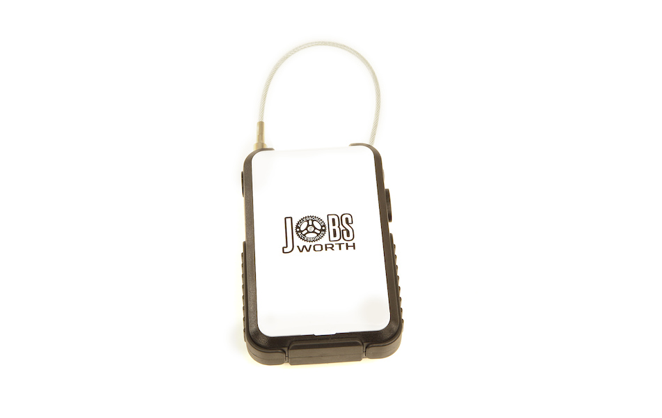 Jobsworth Retractable Cable Lock