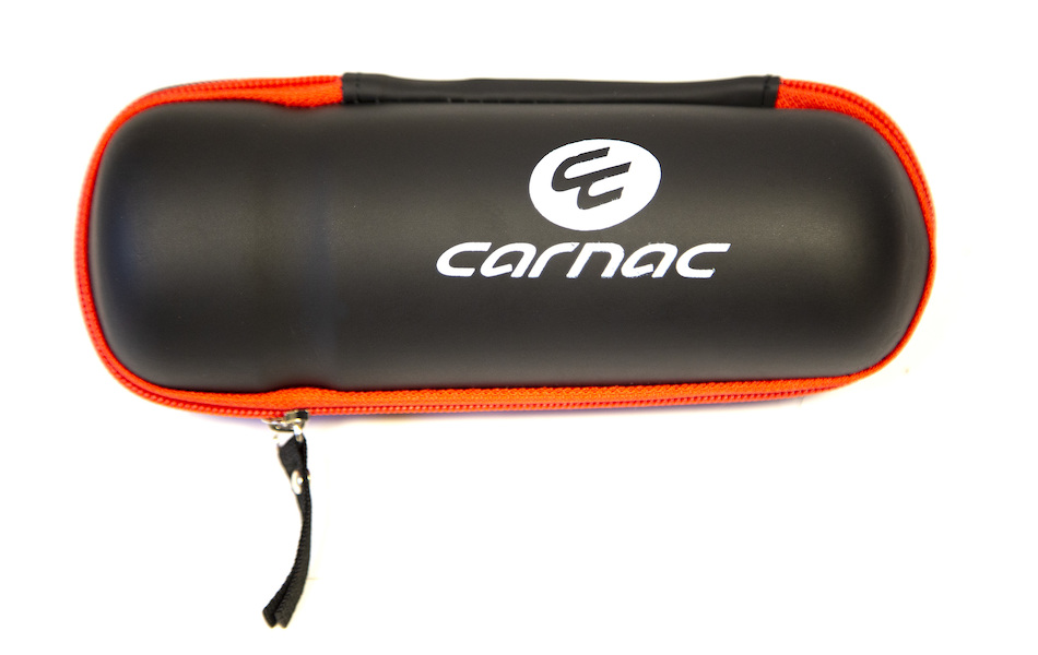 Carnac EVA Tool Bottle Cage Tool Case / Matt Black (1 Mesh + 1 Zip Pocket)