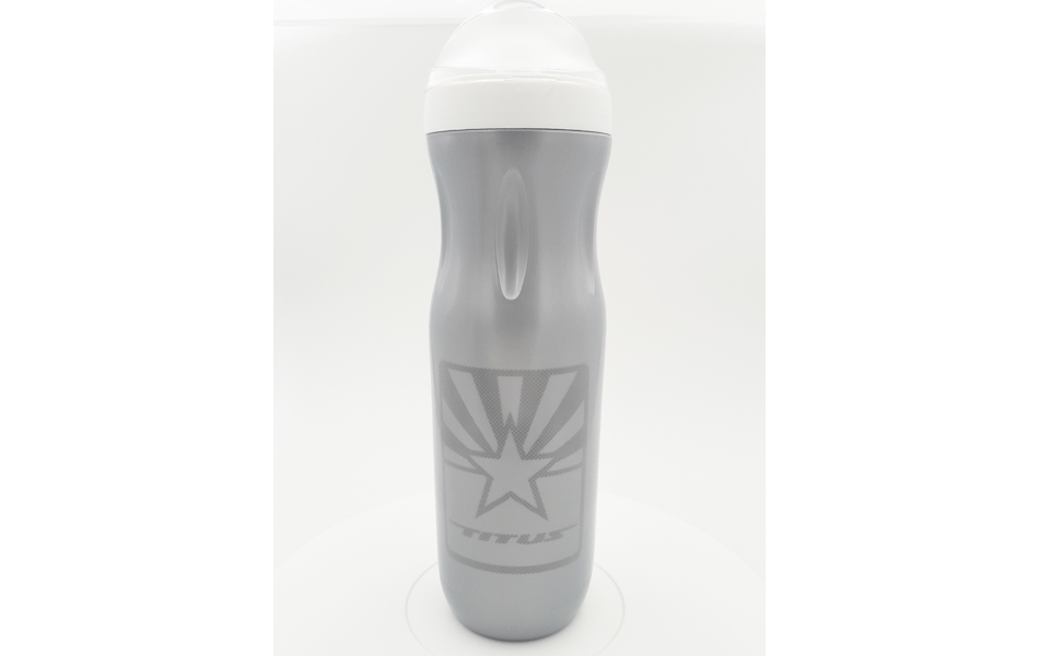 Titus Thermal Water Bottle / Silver