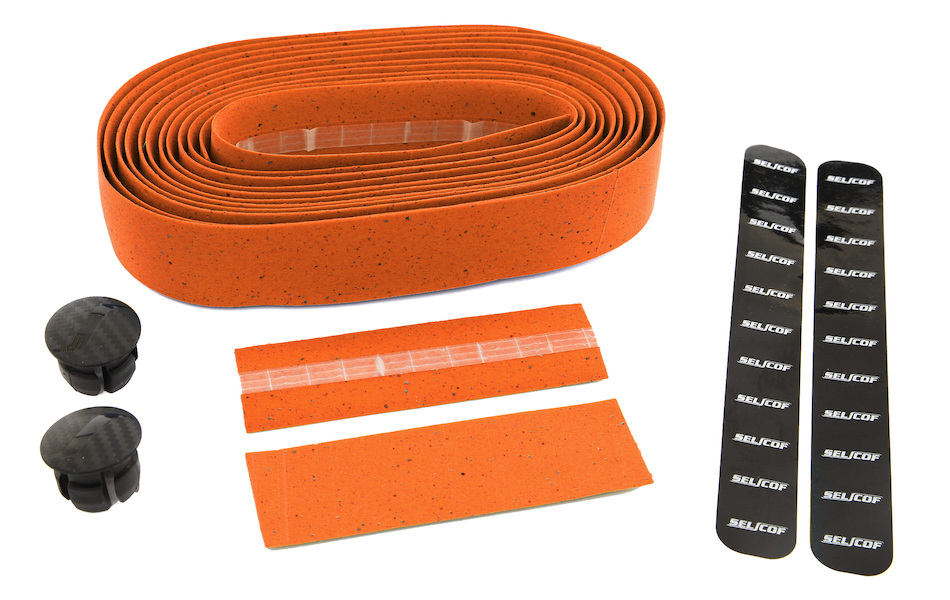 Selcof Cork Bartape / Orange