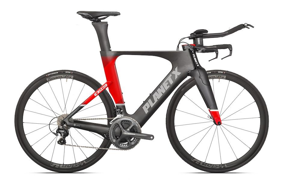 Planet X Exo3 Time Trial Bike Shimano Ultegra 6800 Vision 35 Edition