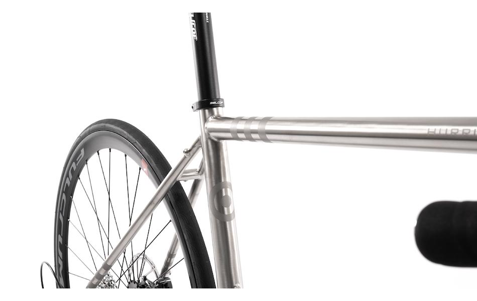 Planet X Hurricane SRAM Force 11 Titanium Disc Audax Bike