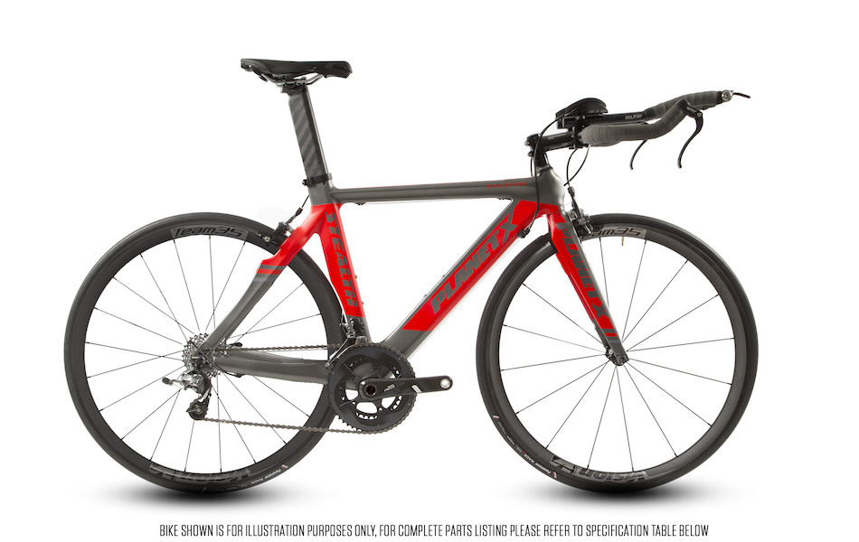 Planet X Stealth SRAM Force 11 Vision 35 Buongiorno Cuckney 10 Limited Edition Time Trial Bike