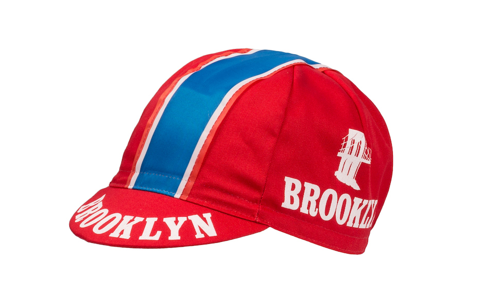 Apis Cotton Cycling Cap / One Size / Brooklyn  Red