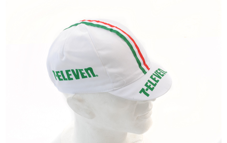 Apis Cotton Cycling Cap / One Size / Team Seven Eleven