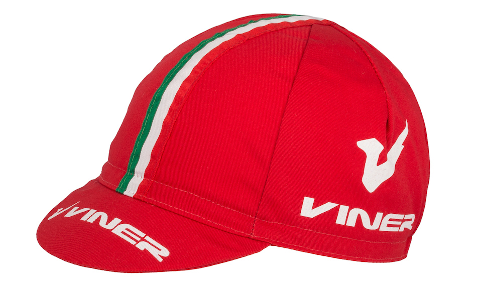 Apis Cotton Cycling Cap / One Size / Viner Red