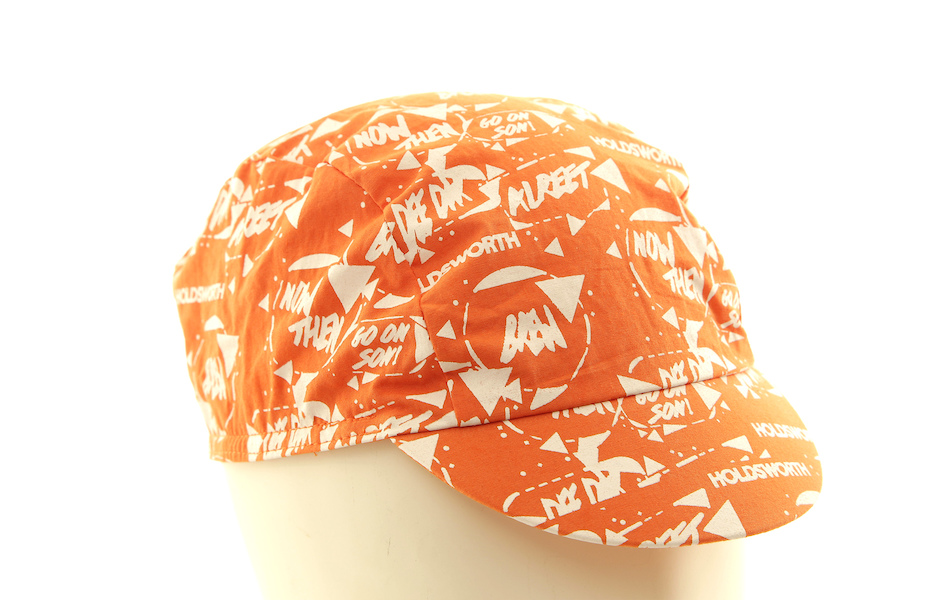 Holdsworth DeeDar Cotton Cycling Cap / Orange