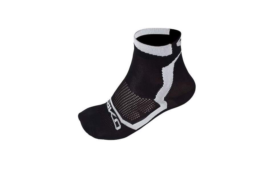 Briko Real Mesh Extreme 13 Cm Socks 3 Pack / Small / Black and White