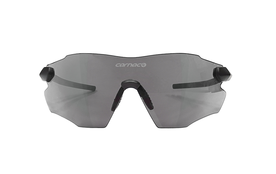 Carnac Equipe V2 Sunglasses / Matt Black / HD Silver Mirror