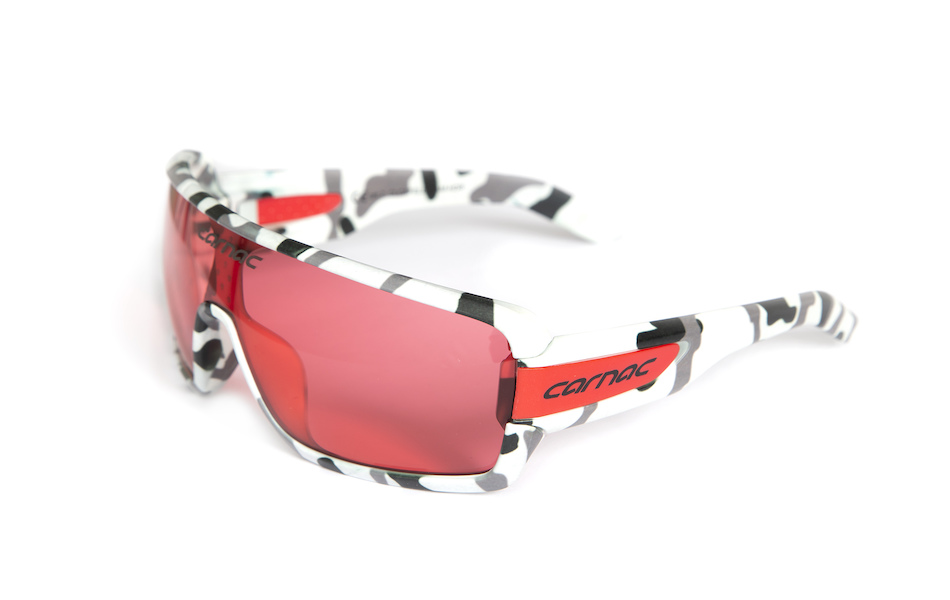 Carnac Feldman Sunglasses / White Urban Camo / HD Rose