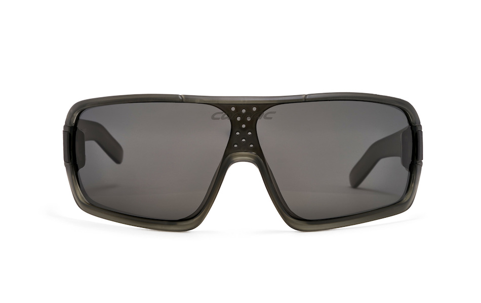 Carnac Feldman Polarised Sunglasses / Crystal Dark Grey / Polarised Smoke
