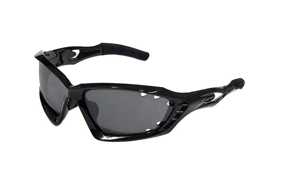 Carnac Metis EVO Sunglasses / Gloss Black / HD SIlver Mirror