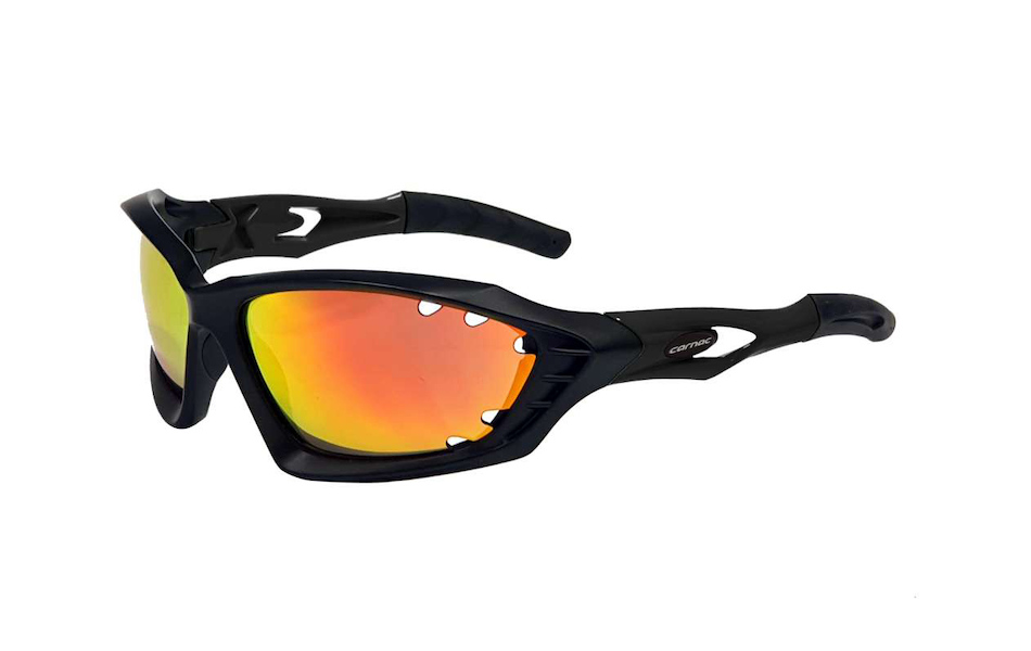 Carnac Metis EVO Sunglasses / Matt Black / Red Black Revo