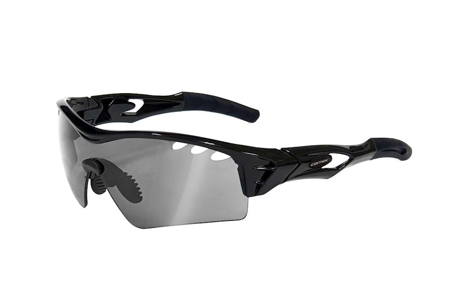 Carnac Ourea Evo Sunglasses / Gloss Black / HD Silver Mirror