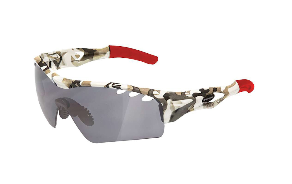 Carnac Ourea Evo Sunglasses / Snow Camo White / HD Silver Mirror