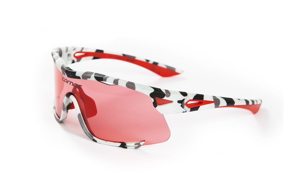 Carnac Race Sunglasses / Urban Camo / HD Rose