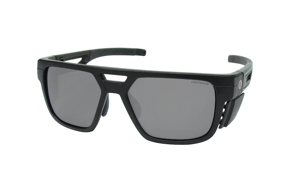 Carnac RSF Ballistic Sunglasses / Black Frame Smoke and Clear Lenses