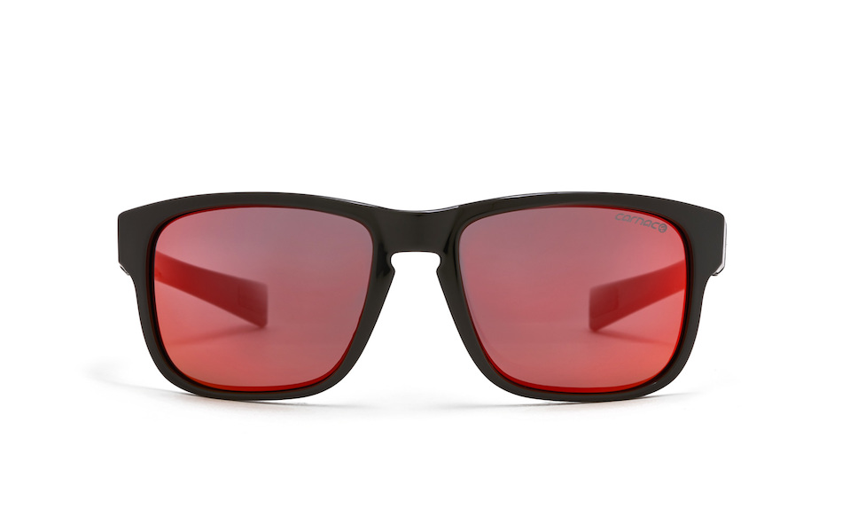 Carnac RSF SE Sunglasses / Gloss Black / Black Red Revo