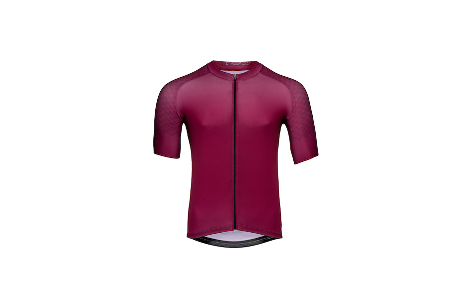 Carnac Short Sleeve Jersey / Burgundy