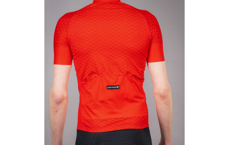 Carnac Men's Short Sleeve Jersey / Red