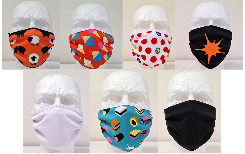Planet X Sublimated Face Mask