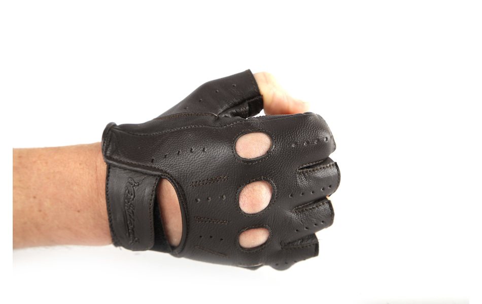 Holdsworth Worthy Leather Track Mitt