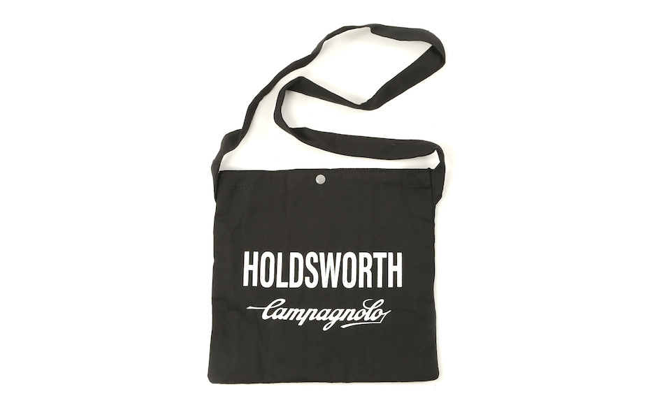 Holdsworth Team Edition Black Race Canvas Musette