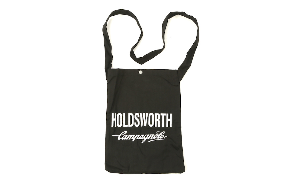 Holdsworth Team Edition Black Travel Canvas Tote Bag