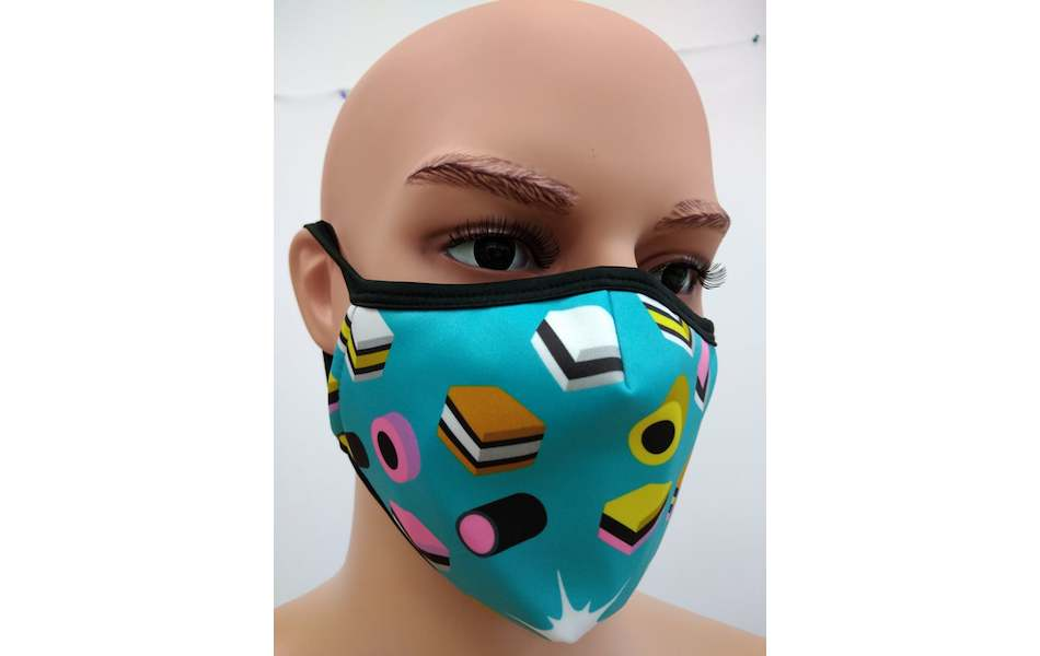 Planet X Custom Fabric Filter Face Mask