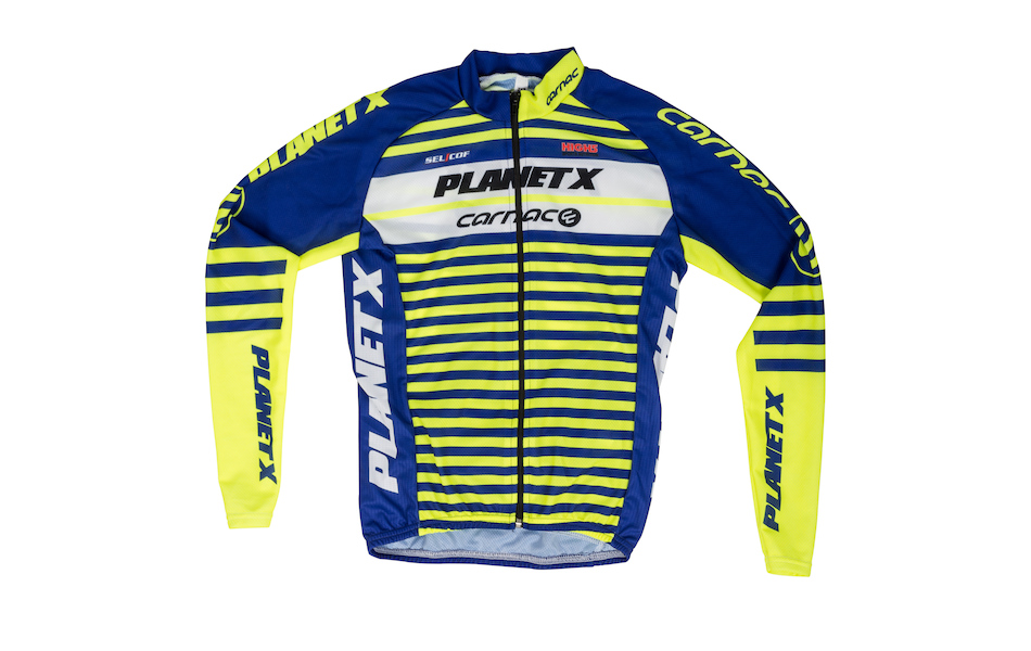 Planet X Team Carnac Childrens Long Sleeved Jersey