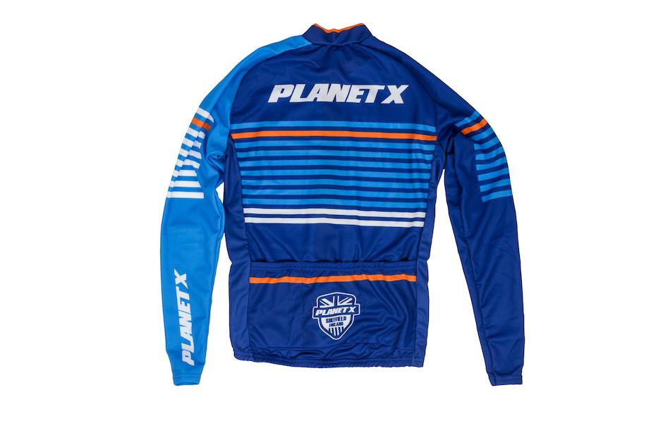 Planet X Midnight Stripe Childrens Long Sleeved Jersey