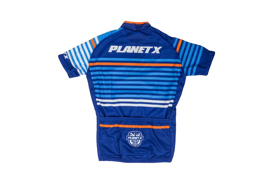 Planet X Midnight Stripe Childrens Short Sleeved Jersey