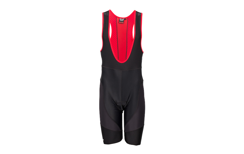 Planet X Pro-Line 365 X Bib Shorts Red and Black